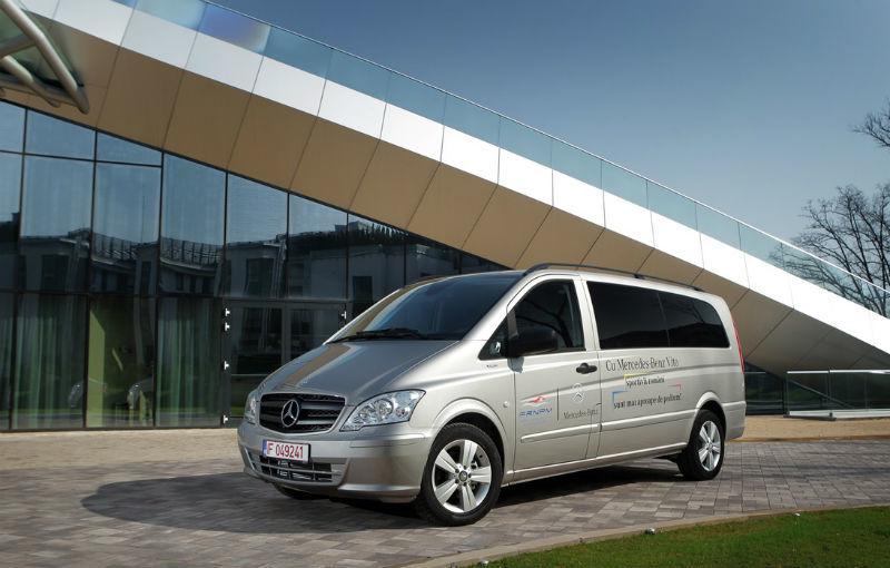 Mercedes oferă câte un Vito pentru Federaţia Olimpică Română şi pentru Federaţiile de Tenis şi Nataţie - Poza 8
