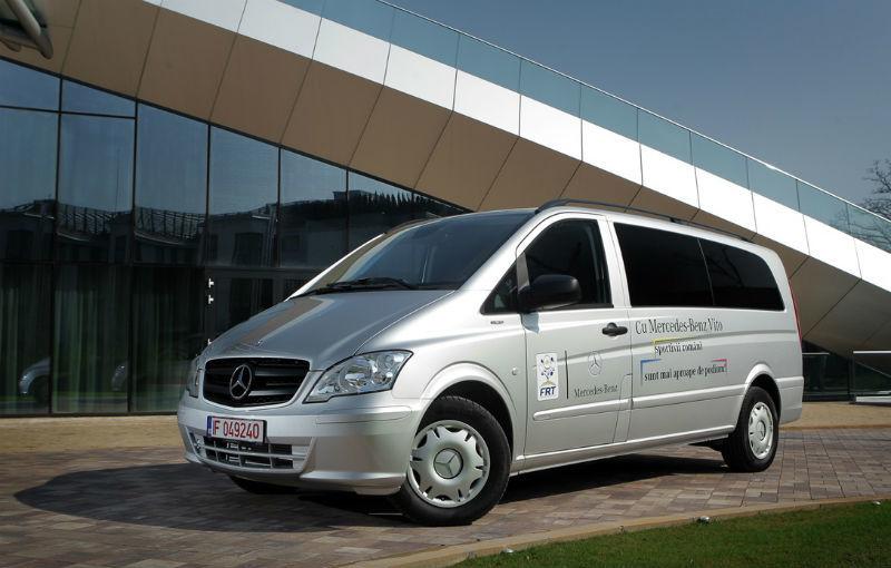 Mercedes oferă câte un Vito pentru Federaţia Olimpică Română şi pentru Federaţiile de Tenis şi Nataţie - Poza 10