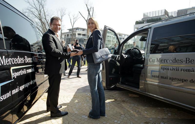 Mercedes oferă câte un Vito pentru Federaţia Olimpică Română şi pentru Federaţiile de Tenis şi Nataţie - Poza 4