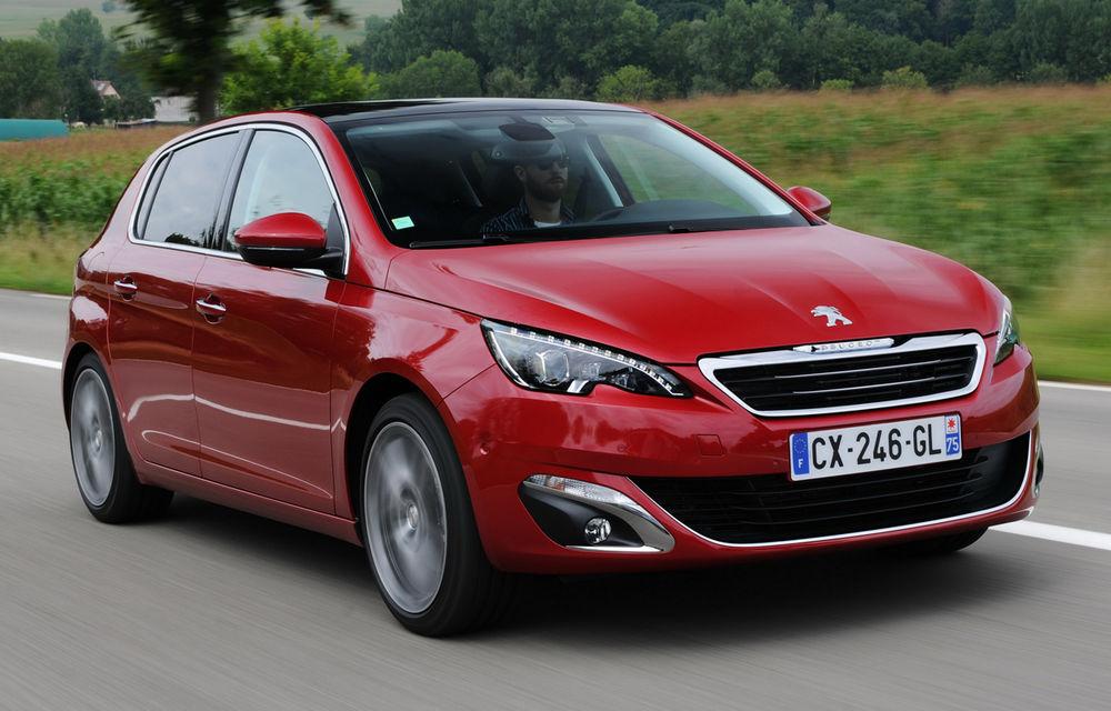 Peugeot 308 reuşeşte vânzări peste aşteptări: 60.000 de comenzi într-o jumătate de an - Poza 1