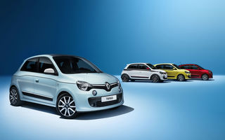 Renault Twingo împarte 70% din componentele mecanice cu viitoarea gamă Smart