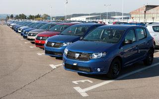 Dacia a înregistrat o creştere de 36.5% în Europa în primele două luni ale anului