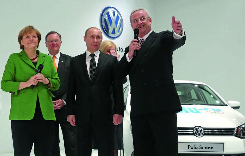 Volkswagen ignoră sancţiunile UE pentru anexarea Crimeei şi continuă investiţiile în Rusia - Poza 1