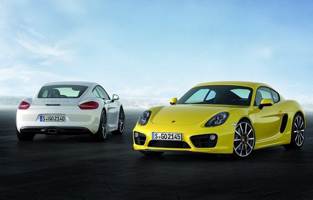 Porsche confirmă motoarele boxer cu patru cilindri pentru viitoarele Boxster şi Cayman - Poza 1