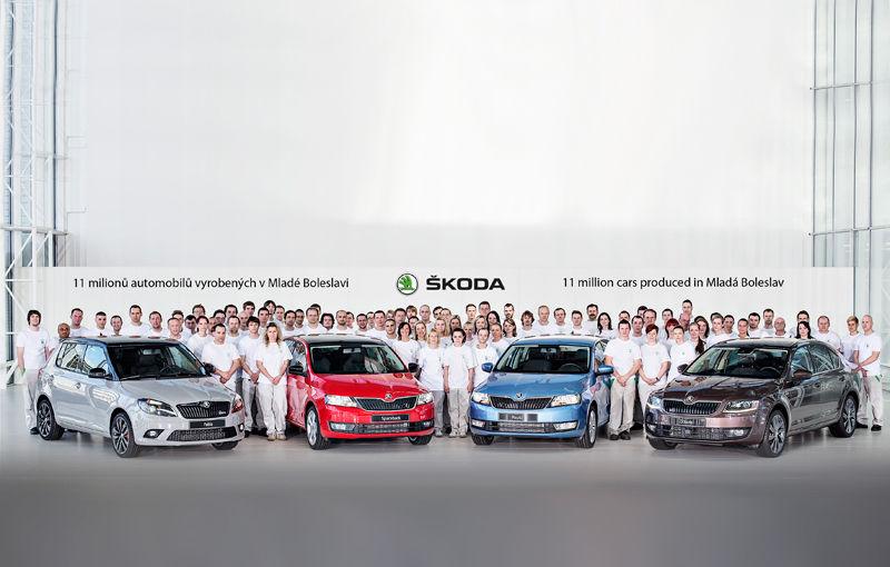 Sărbătoare la Skoda: 11 milioane de automobile fabricate la Mlada Boleslav - Poza 1