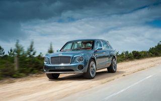 SUV-ul Bentley va avea o viteză maximă de 320 km/h