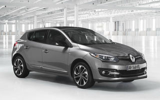 Preţuri Renault Megane facelift în România: plecare de la 14.100 de euro pentru 1.6 benzină de 110 CP