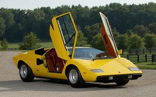 Bertone, carosierul care a desenat Lamborghini Countach, recunoaşte oficial falimentul