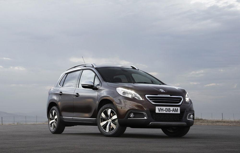Peugeot creşte producţia lui 2008 pentru a cincea oară - Poza 1