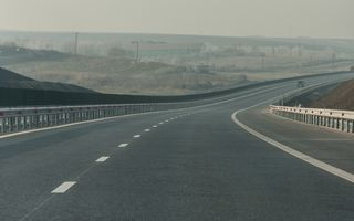 Ultimul segment al autostrăzii Sibiu-Orăştie va fi finalizat în luna noiembrie