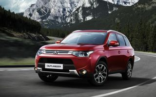 Preţuri Mitsubishi Outlander facelift în România: start de la 28.400 euro