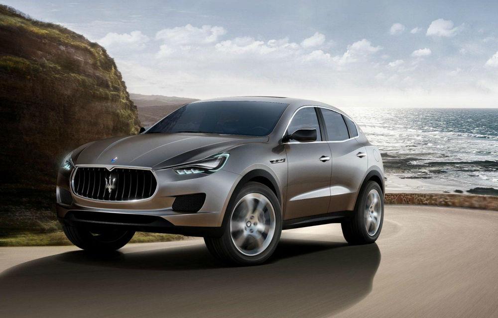 """Maserati: """"SUV-ul nostru nu se va bate cu versiunile de volum ale lui Porsche Cayenne"""" - Poza 1"""