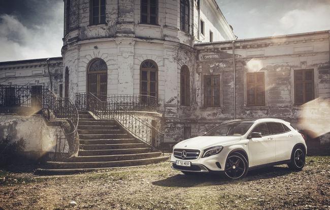 Test drive Mercedes-Benz GLA (2013-2017)