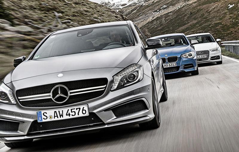 BMW, Audi şi Mercedes-Benz raportează vânzări-record în luna martie 2014 - Poza 1