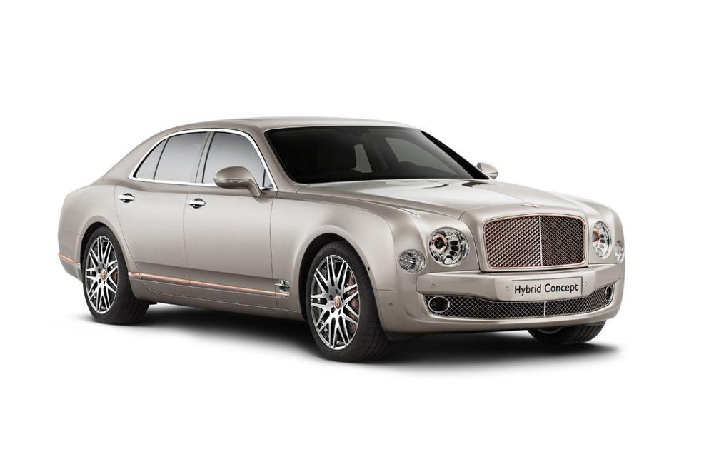 Bentley Hybrid Concept - primul hibrid al englezilor se prezintă - Poza 1