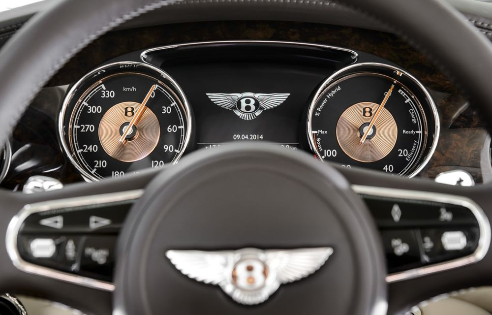 Bentley Hybrid Concept - primul hibrid al englezilor se prezintă - Poza 10