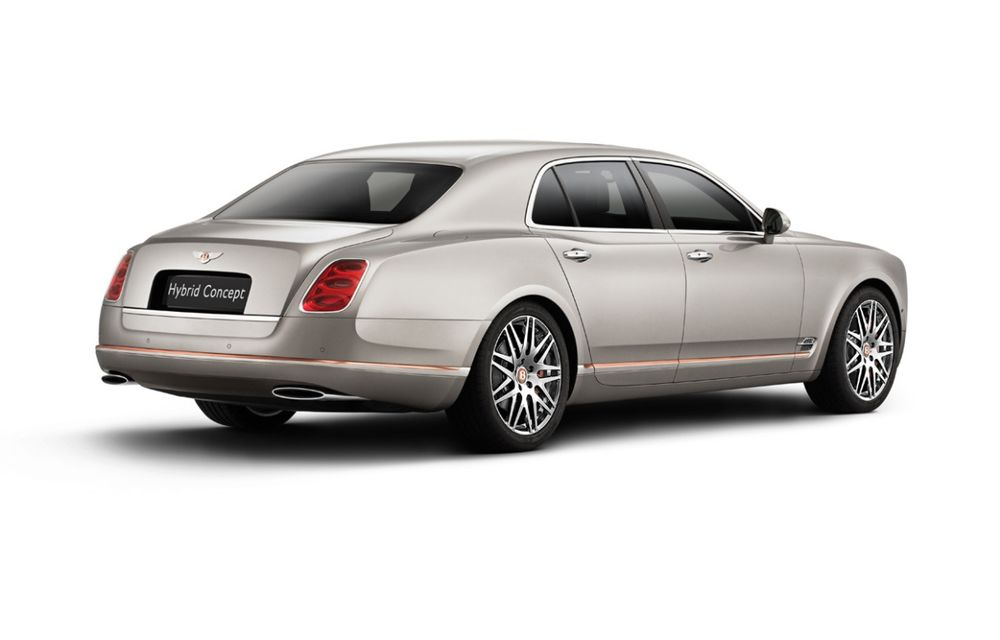 Bentley Hybrid Concept - primul hibrid al englezilor se prezintă - Poza 2