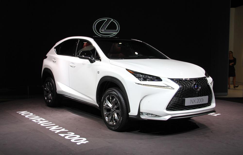 PARIS 2014 LIVE: Lexus NX, noul SUV compact premium al mărcii japoneze - Poza 1
