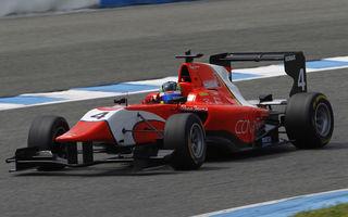 Vişoiu, locul 14 în testele de GP3 de la Jerez