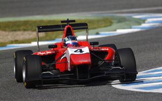 Vişoiu încheie testele de GP3 pe locul patru