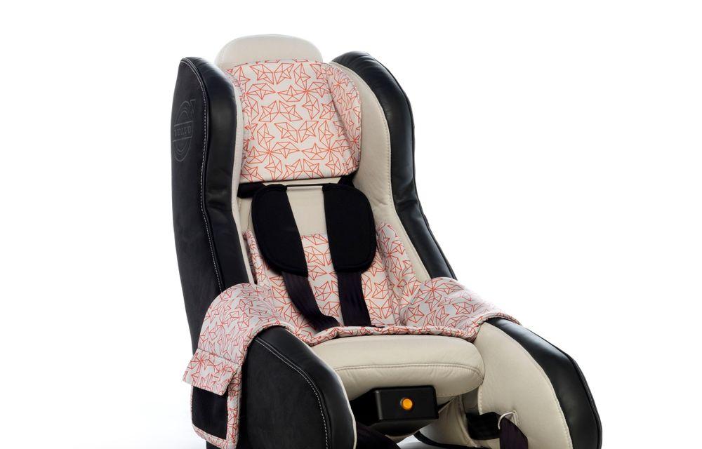 Volvo prezintă scaunul gonflabil pentru copii - Poza 5