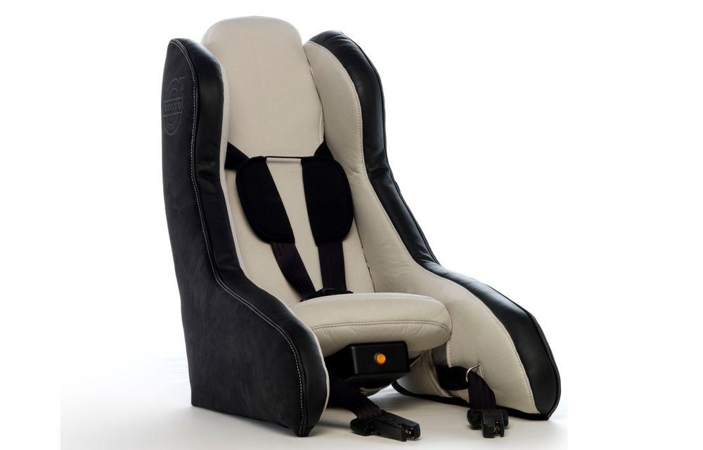 Volvo prezintă scaunul gonflabil pentru copii - Poza 1