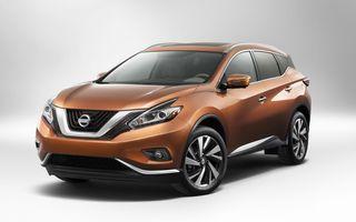 Nissan Murano - primele imagini ale noii generaţii