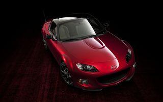 Mazda a prezentat o nouă ediţie aniversară a lui MX-5 şi platforma noii generaţii