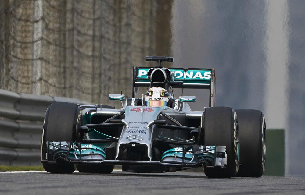 Hamilton a dominat Marele Premiu al Chinei! Alonso, primul podium din acest sezon - Poza 1