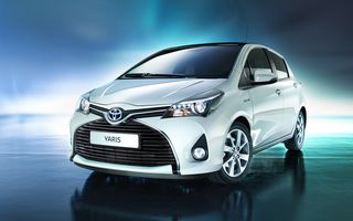 Toyota Yaris facelift: prima imagine a versiunii europene