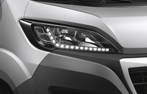Peugeot Boxer facelift: dotări şi forme noi pentru utilitara franţuzească - Poza 7