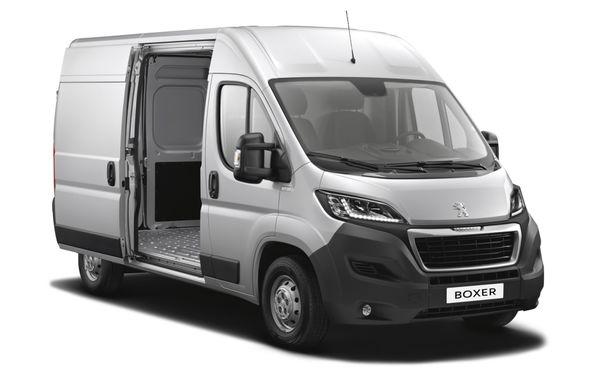 Peugeot Boxer facelift: dotări şi forme noi pentru utilitara franţuzească - Poza 1