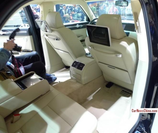 Cea mai scumpă masină chinezească vândută vreodată, Hongqi L5, a costat 580.000 de euro - Poza 8