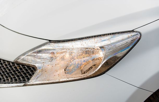 Nissan testează vopseaua care nu permite murdărirea maşinii - Poza 4