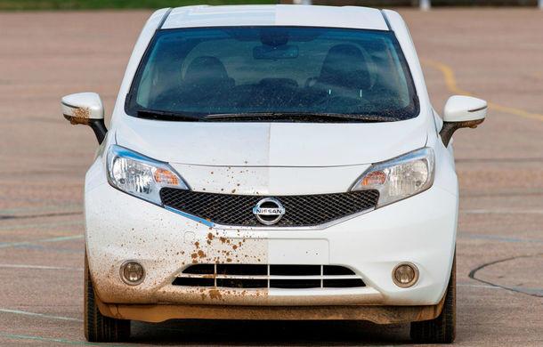 Nissan testează vopseaua care nu permite murdărirea maşinii - Poza 1