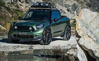 Mini Paceman Adventure - studiu de design pentru un pick-up marca Mini