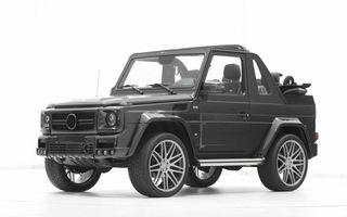 Brabus a modificat versiunea cabrio a modelului Mercedes-Benz G500