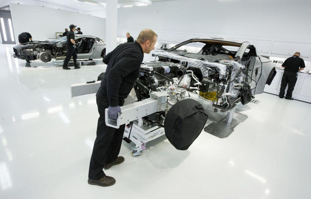 Aston Martin confirmă dezvoltarea unei noi platforme tehnice - Poza 1