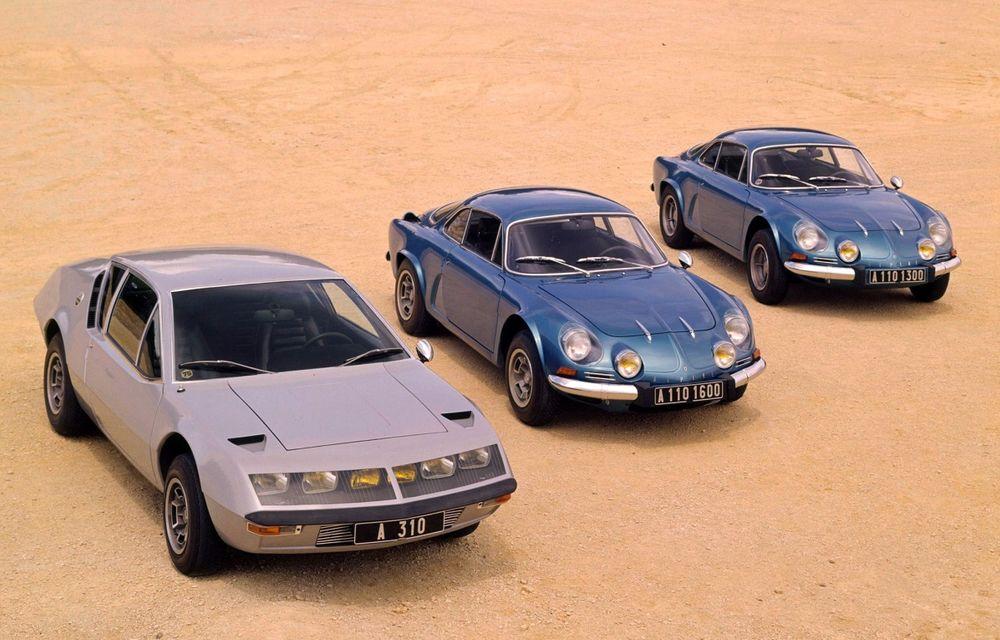 Poveşti auto: Alpine - diamantul din sertarele Renault - Poza 1