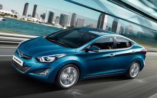 Preţuri Hyundai Elantra facelift în România: berlina pleacă de la 17.670 euro