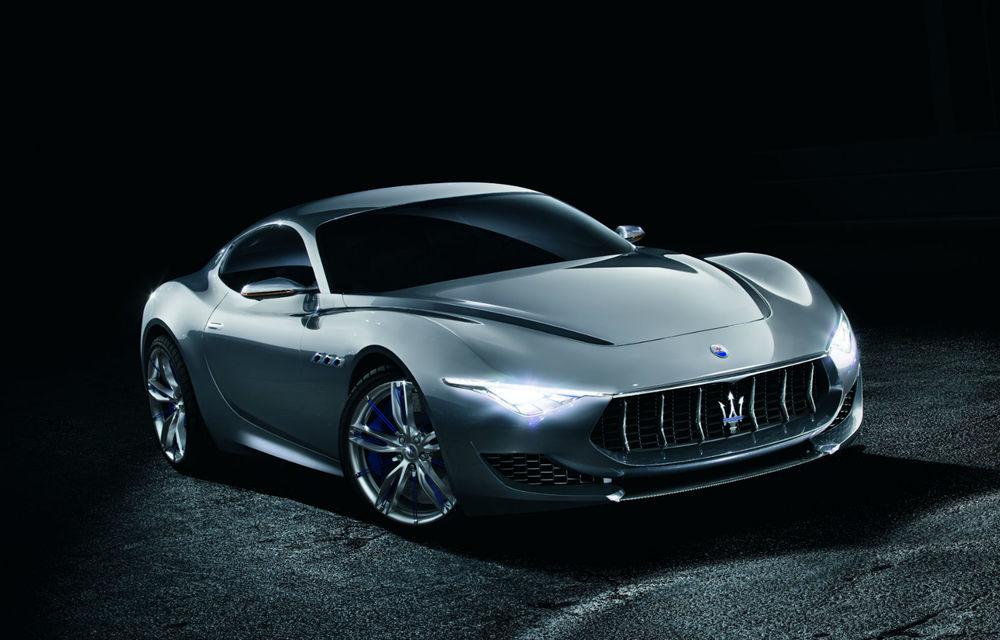 Maserati Alfieri va fi produs în serie şi va avea o variantă cabrio - Poza 1