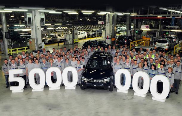 Uzina Dacia din Mioveni a produs cinci milioane de automobile - Poza 1