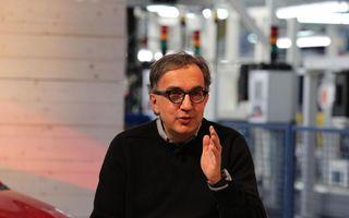 """Sergio Marchionne: """"FCA va supravieţui chiar dacă nu va atinge obiectivele de vânzări"""""""