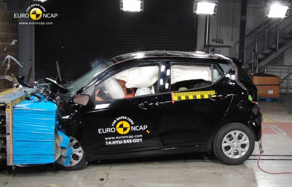 EuroNCAP: Patru stele pentru noul Hyundai i10 şi cinci stele pentru Mercedes-Benz C-Klasse - Poza 6