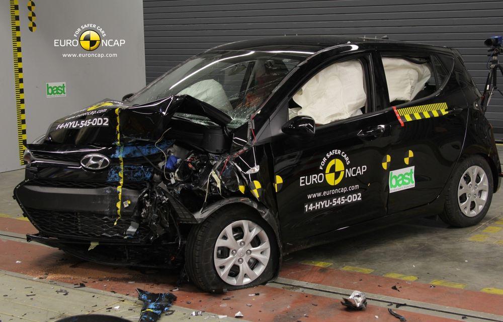 EuroNCAP: Patru stele pentru noul Hyundai i10 şi cinci stele pentru Mercedes-Benz C-Klasse - Poza 4