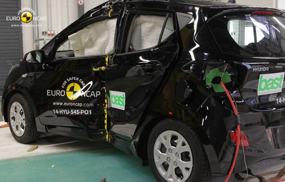 EuroNCAP: Patru stele pentru noul Hyundai i10 şi cinci stele pentru Mercedes-Benz C-Klasse - Poza 3