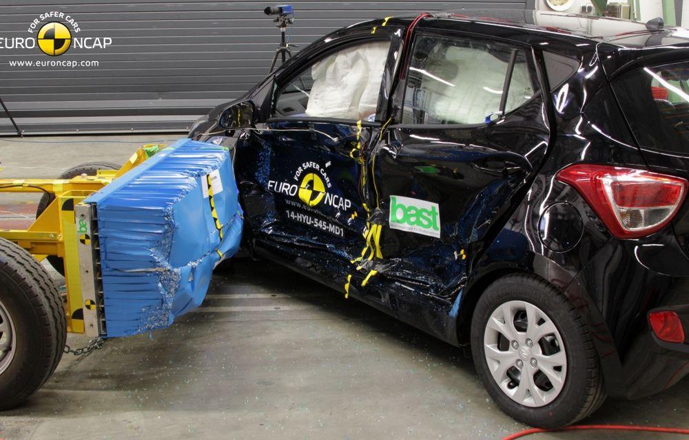 EuroNCAP: Patru stele pentru noul Hyundai i10 şi cinci stele pentru Mercedes-Benz C-Klasse - Poza 2