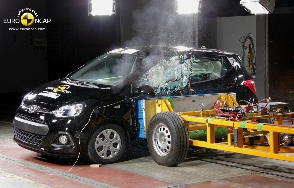 EuroNCAP: Patru stele pentru noul Hyundai i10 şi cinci stele pentru Mercedes-Benz C-Klasse - Poza 1