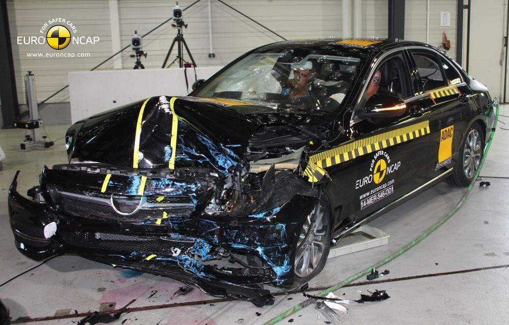 EuroNCAP: Patru stele pentru noul Hyundai i10 şi cinci stele pentru Mercedes-Benz C-Klasse - Poza 7