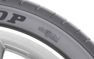 Dunlop introduce în producţia de serie anvelopele cu spumă interioară pentru reducerea zgomotului